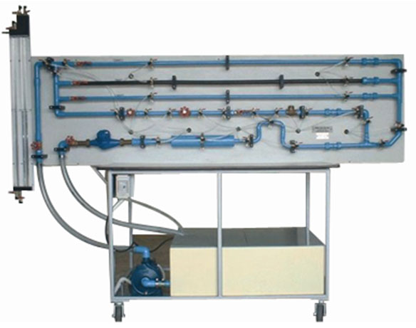 FM 200 Piping Loss Test Stand | EdLabQuip