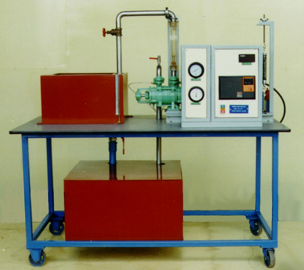 Test Benches Fm 311 Turbine Pump Test Bench Edlabquip